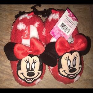 Other - Toddler Minnie slippers 9/10